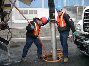 Hydrojetting Sewer Pipe Cleaning